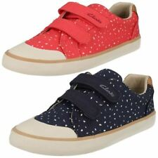 Clarks Casual Canvas Shoes for Girls