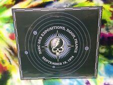 Grateful Dead 30 Trips Around The Sun 1974 Dijon France Parc Des Ex 9/18/74 3 CD