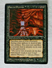 Haunting Wind Antiquities HEAVILY PLD Black Uncommon Reserved List CARD ABUGames