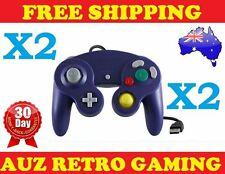 2x Nintendo Gamecube Game Cube USB Controller Pad For PC & Mac Windows Emulator