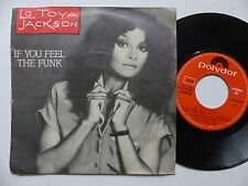 LA TOYA JACKSON If you feel the funk ( si te va el funk ) 20 95 30 4 ESPAGNE