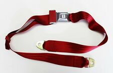 New! Cutlass Chevelle Malibu SS Caprice buick GTO Impala RED seat Belt Each
