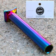 COLONY BMX BIKE PIVOTAL SEAT POST 185mm LONG OIL SLICK JET FUEL ODYSSEY CULT BSD