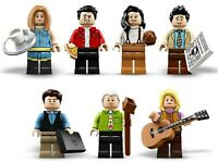 NEW LEGO IDEAS FRIENDS MINIFIGURES X7 LOT - 21319 CENTRAL PERK FIGURES