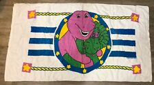 1990s Barney and Baby Bop Towel Franco
