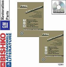 1996 Buick Lesabre Park Avenue 88 98 Bonneville Shop Service Repair Manual CD
