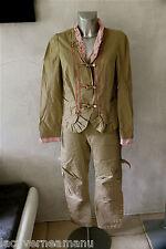ensemble pantalon veste camel SPORTMAX MAX MARA taille 36 - 38   EXCELLENT ÉTAT