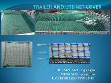 Cargo Net, Trailer, Utes and Trucks, 2.5mx2.5m, Elastic Cord, Handy Carry Case
