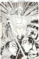 Teen Titans #88 p.30 - Wonder Girl, Ravager, Deathstroke - 2010 by Nicola Scott