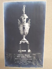 antique post card CRYSTAL PALACE 500 Guinea Trophy 1924