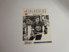 2012/13 Classics Signatures #179 BRENT SUTTER New York Islanders 12/13 No Auto