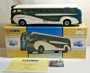CORGI VINTAGE BUSES USA 1:50 YELLOW COACH 743 - GREYHOUND LINES  - 98469 - BOXED