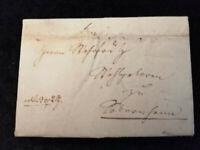 Vorphilatelie Altdeutschland - Brief Faltbrief von 1828    Nr.3
