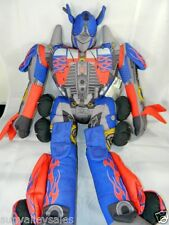 Transformer Optimus Prime Large Plush Pillow Robot Doll Figure Hasbro