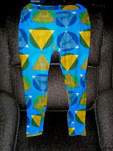 Women's LuLaRoe Leggings Geometric Deer  Soft, Size TC - Tall & Curvy