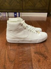 Nike Blazer Royal QS Triple White 2018 Mens Size10.5 BRAND NEW AR8830-100