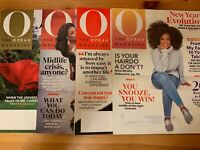 O Oprah Magazine Lot 4 Issues Dec 2019 Jan Feb Mar 2020 Favorite Things New