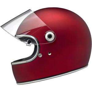 Biltwell Gringo S - DOT / ECE Motorcycle Helmet - Flat Red - Choose Size