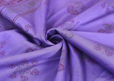 Vintage Indian Saree 100% Pure Silk Woven Premium Sari Dress Sewing Craft Fabric