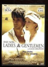 AND NOW... LADIES AND GENTELMEN   LELOUCH  J. IRONS / Patricia KAAS  DVD ZONE 2