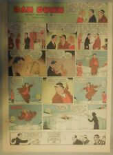 Dan Dunn Sunday by Norman Marsh from 1/23/1938 Tabloid Page Size!