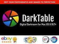 Darktable - Digital Darkroom for Mac - Photo Editor / Enhancer, RAW, DSLR etc