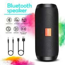 More details for portable wireless bluetooth speaker waterproof outdoor tf aux usb mp3 fm radio