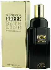 (49,99eur/100ml) GIANFRANCO FERRE-Bath LINE 100ml PROFUMO DEODORANTE SPRAY NUOVO