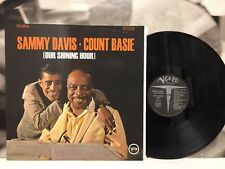 SAMMY DAVIS - COUNT BASIE - OUR SHINING HOUR LP
