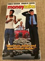 Money Talks VHS VCR Video Tape Movie Charlie Sheen, Chris Tucker Used