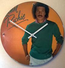"Lionel Richie Album Clock 11.5"" round battery operated"