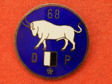 INSIGNE INFANTERIE 68° Régiment Régional 1939 - 1940  Défense Passive WW2 METZ