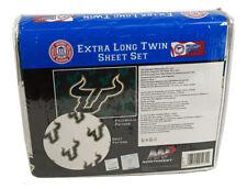 South Florida Bulls NCAA (Extra long) Twin Sheet Set with Pillow Case