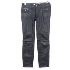 FREEMAN T.PORTER Jeans Alexa Leather Skin Schwarz Gr. W25 L32