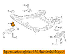 TOYOTA OEM Front Suspension-Engine Cradle Cushion 522110E010