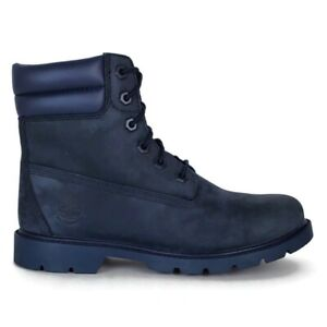 Timberland linden woods leather lace up womens boots Navy Size 6