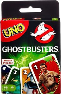 """UNO """"Ghostbusters"""" Edition / """"Cult Classic Hit Movie"""" starring Bill Murray / New"""