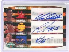 2006-07 Topps Triple Threads Combo Carter Smith Wilkins Auto Jersey 23/36  *5769
