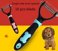 Large Grooming Brush and Deshedding Tool for Dog and Cat with Short to Long Hair