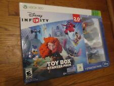Disney InfINity TOY BOX VIDEO GAME 2.0 Figures Starter Pack XBOX 360 X BOX NEW