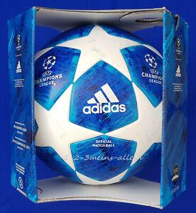 NEU - ADIDAS MATCHBALL CL FINALE 18 BALON PALLONE SOCCER BALLON FOOTBALL FUTBOL