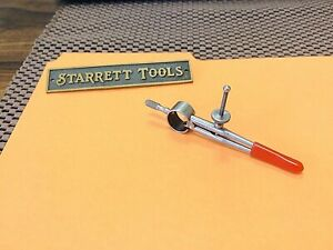 "STARRETT No. 277  Dividers With Round Legs - Mini  2.0"" Capacity.  ""USA Made"""