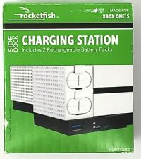 Rocketfish- Side Dock Charging Station for Xbox One S - White *New*