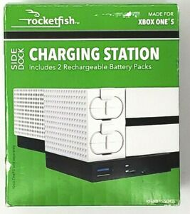 Rocketfish Side Dock Charging Station for Xbox One S White (Very Good Condition)