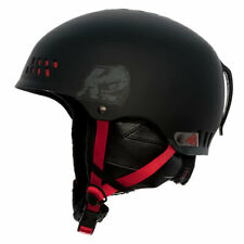 K2 2015 Phase Pro Ski Helmet Black/Red Small