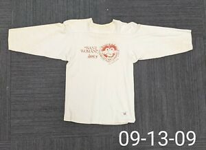 """Vintage 1981 Muppets Animal """"Want Woman!"""" Artex SS T-Shirt Made in USA M"""
