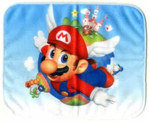 BANDAI SPIRITS Super mario 25cm towel Game accessories toy Japan Limited 22