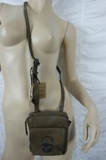 WHITE STUFF mocha brown small 100% leather patricia crossbody messenger bag BNWT