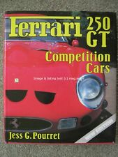Ferrari 250GT Competition Cars Jess G. Pourret New Edition Hardback book 250 GT