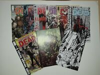 The Walking dead 1 sketch lot Image firsts 7 48 53 96 100 114